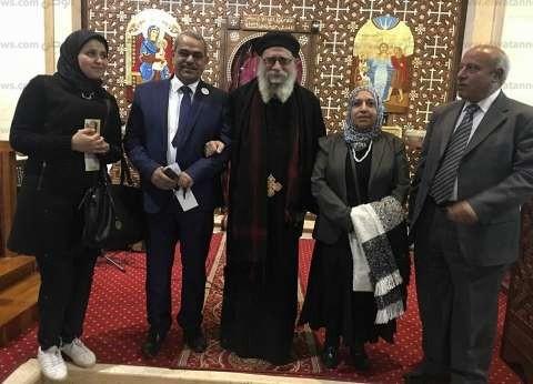 """""""كلنا معاك من أجل مصر"""" بكفرالشيخ تعزي الأقباط في ضحايا """"كنيسة مارمينا"""""""