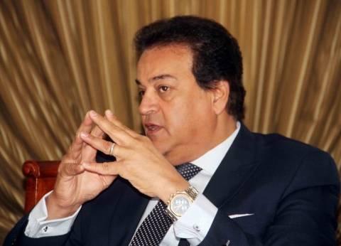 وزير التعليم العالي يطمئن على استعدادات المؤتمر الوطني السادس للشباب