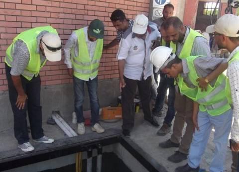 """رئيس """"مياه سوهاج"""": بدء التشغيل التجريبي لمشروعات الصرف صحي بقرى طما"""