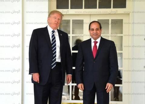 القمة «المصرية - الأمريكية» تتصدر الصحف العالمية