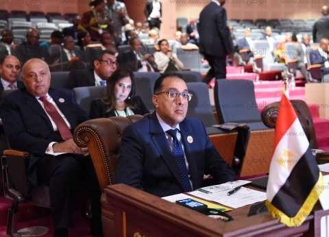 عاجل| مدبولي يسلم رئيس موريتانيا رسالة من السيسي