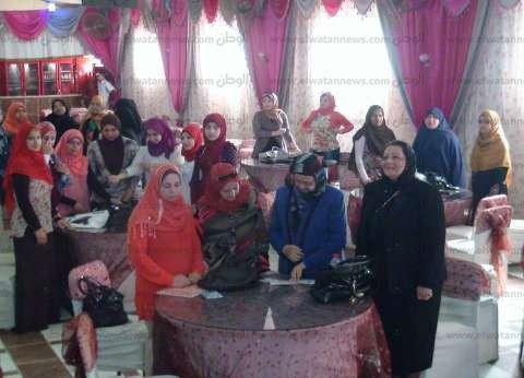 """""""قومي المرأة"""" يزور 14 قرية الأكثر فقرا في بني سويف"""