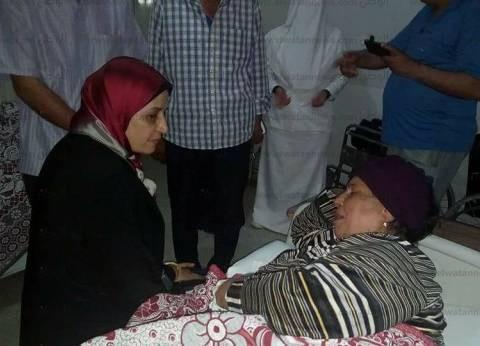 بالصور| رئيس مدينة الحامول تطمئن على الخدمات الطبية بالمستشفى المركزي