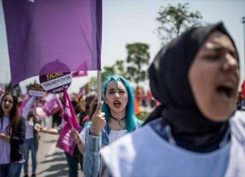 عاجل| الشرطة التركية تفض تظاهرة لآلاف النساء في اليوم العالمي للمرأة