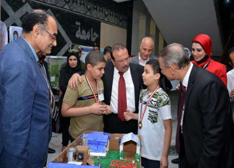 """انطلاق فعاليات المؤتمر الدولي """"مصر تخترع"""" بجامعة طنطا"""