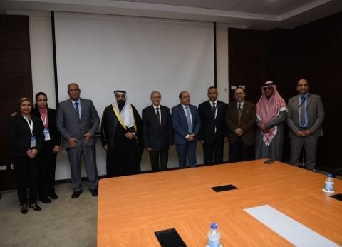 """""""الإنتاج الحربي"""" توقع بروتوكول تعاون مع شركة """"القناص"""" الكويتية"""
