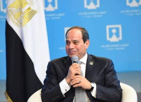 السيسي: مش عايز تغول بين المؤسسات.. وده كلام عام أرجو عدم تأويله