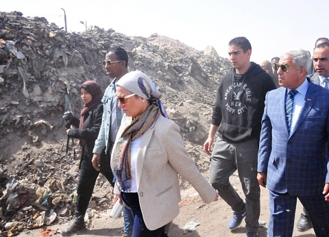وزيرة البيئة: 3 ملايين جنيه للتخلص الآمن من القمامة والمخلفات بأسوان