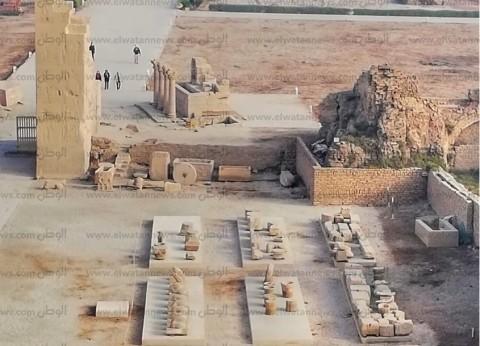 """""""الأعلى للآثار"""": تطوير منطقة معبد دندرة وتحويله لمتحف مفتوح"""
