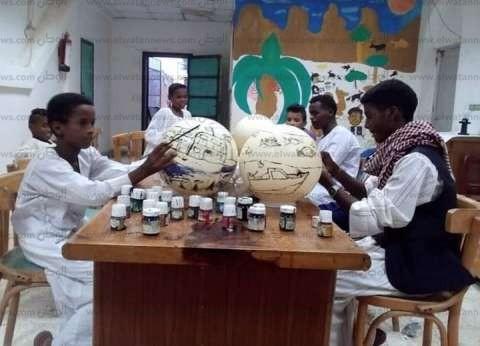 «ثقافة الشلاتين»: الأطفال أبدعوا في ورشة الرسم بالبحر الأحمر