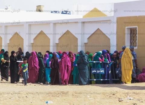 إقبال كثيف على الانتخابات في حلايب وشلاتين وسط ظهور بارز للمرأة