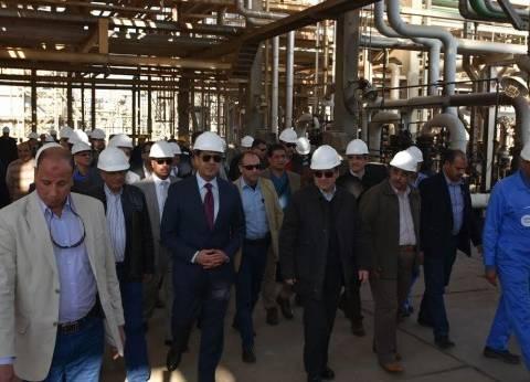 زيادة إنتاج الغاز الطبيعي لـ25 مليون قدم مكعب و1200 برميل يوميا