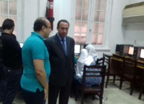 عميد كلية الزراعة بجامعة القاهرة يتفقد معامل التنسيق