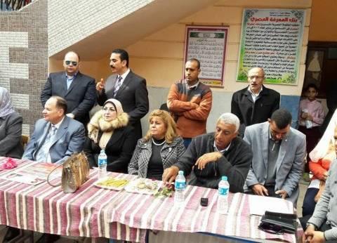 رئيس حى العجوزة يبحث جاهزية مقرات انتخابات الرئاسة مع اللجنة المشرفة