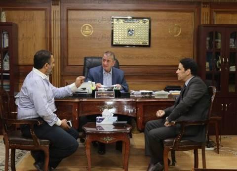 بالصور| محافظ كفر الشيخ يبحثتطوير وميكنة الخدماتمع وزارة الاتصالات