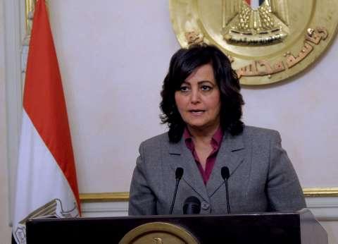 """منى محرز: بركة """"غليون"""" مشروع متكامل يفخر به جميع المصريين"""