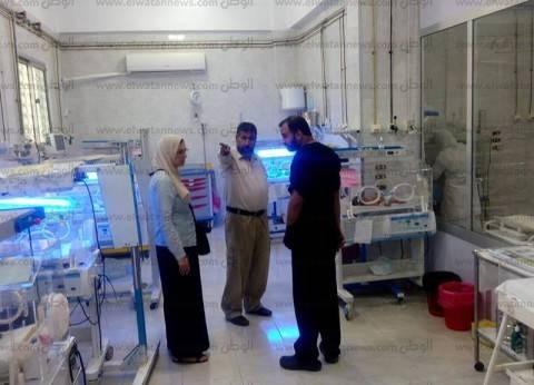 """""""صحة الشرقية"""": خطة عاجلة لتطوير الاستقبال والطوارئ بمستشفى بأولاد صقر"""