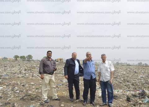 بالصور| رئيس مدينة كفر الشيخ يتفقد أرض مشروع إسكان الشباب