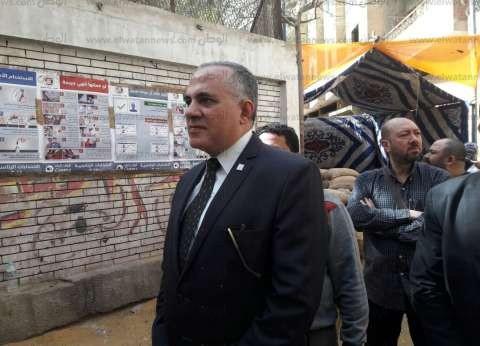 بالصور| وزير الري من أمام اللجنة الانتخابية: اليوم فرحة لمصر والمصريين