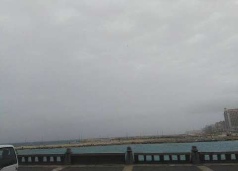 الأرصاد الجوية تنشر صورة من القمر الصناعي للسحب الممطرة في سماء مصر