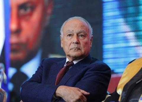 """أبوالغيط: الموقف العربي تجاه عودة سوريا للجامعة """"لم ينضج بعد"""""""