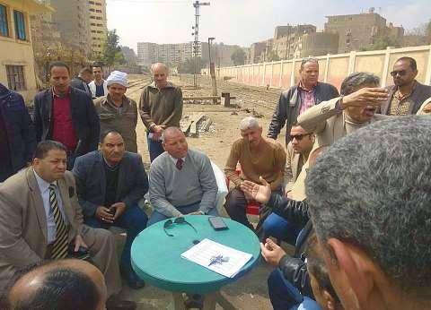 نائب محافظ القاهرة: تطوير مزلقان عين شمس لحل أزمة المرور قبل رمضان