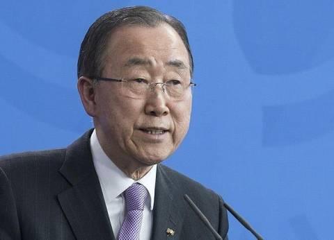 """بان كي مون يدعو لإحالة جرائم الحرب بسوريا لـ""""الجنائية الدولية"""""""