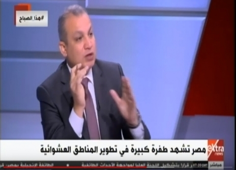 خالد صديق: تسكين اهالي العشوائيات بمشروعات أهالينا والمحروسة خلال أيام
