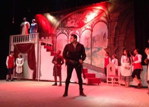 """الليلة.. عرض مسرحية """"هاملت"""" بقصر  ثقافة بورسعيد"""