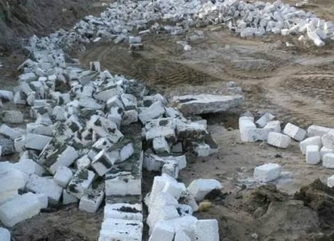 إزالة 107حالات تعدٍ على الأراضي الزراعية في كفر الشيخ