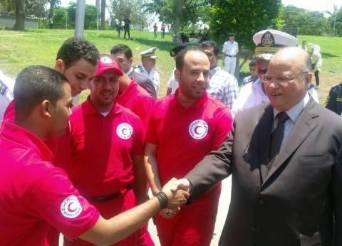 مدير أمن القاهرة يتفقد الخدمات الأمنية لتأمين المواطنين في عيد الفطر