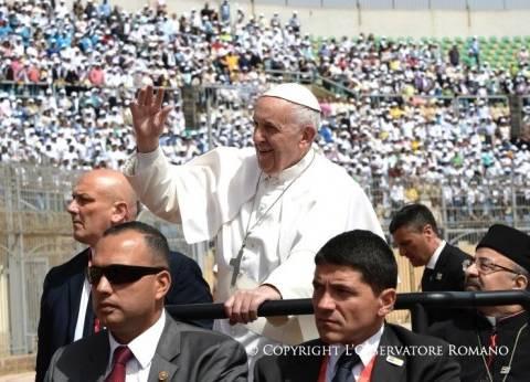 """موقع """"الفاتيكان"""" ينشر صورا لـ""""البابا فرانسيس"""" من """"القداس الإلهي"""""""