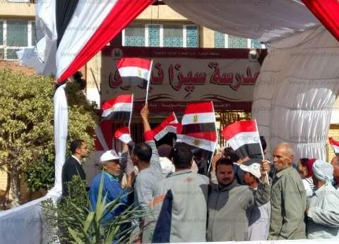 أجواء احتفالية بالغردقة تزامنا مع انطلاق ماراثون انتخابات الرئاسة