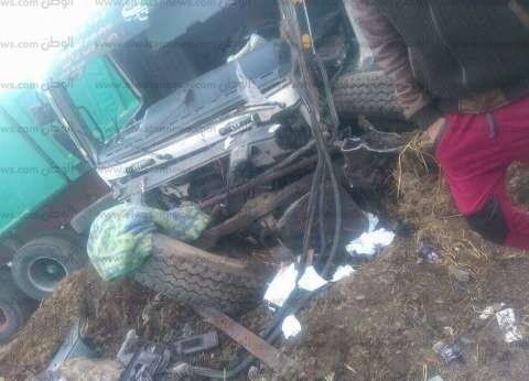 مصرع مزارع في حادث سير بالوادي الجديد