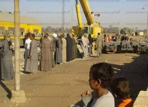 سكرتير عام محافظة أسوان يعلن رفع آثار انقلاب القطار بإدفو