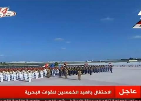 عاجل| السيسي يصل القاعدة البحرية في الإسكندرية