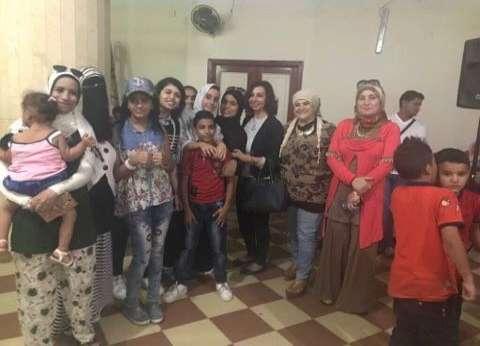«قومى المرأة» ببورسعيد ينعى شهداء الشرطة