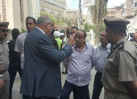 حملة أمنية مكبرة برئاسة مدير أمن دمياط في فارسكور
