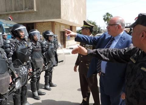 مدير أمن القليوبية يتفقد قوات تأمين الانتخابات الرئاسية