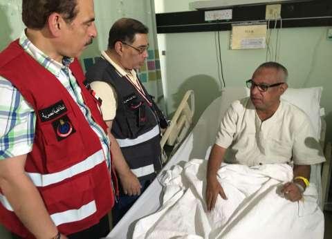 رئيس بعثة الحج الطبية يتفقد مرضى مستشفى الملك فيصل في مكة