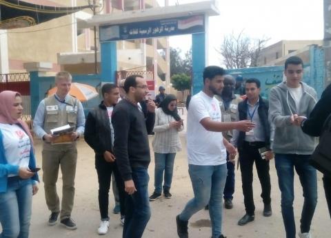البعثة الدولية: مسيرات ومظاهر احتفالية أمام لجان الاستفتاء