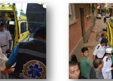 """""""أمن الإسكندرية"""" تستجيب لمناشدة مسنة وتنقلها إلى دار رعاية"""