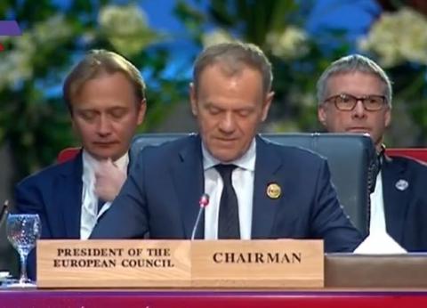 رئيس المجلس الأوروبي: نحتاج لمزيد من الوحدة لمواجهة الإرهاب
