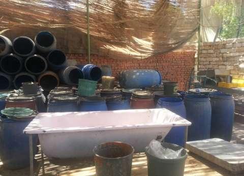 ضبط 20 طن مخلل في مصنع دون ترخيص في الشرقية