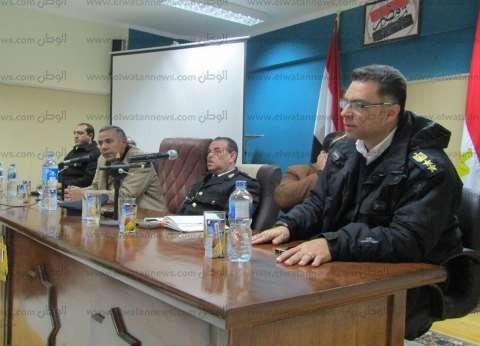 رئيس أبورديس بجنوب سيناء يلتقي القيادات الأمنية لبحث سبل النهوض بالمدينة