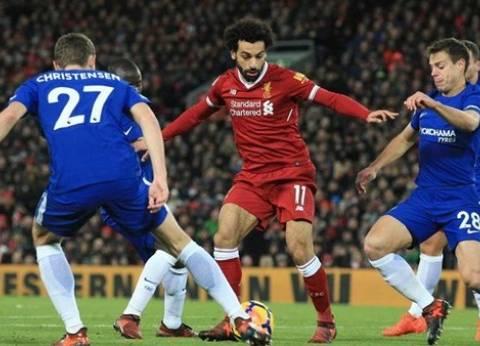 بث مباشر لمباراة ليفربول وتشيلسى ضمن مباريات الدورى الإنجليزى