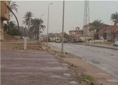 عاجل  التليفزيون المصري: انفجاران استهدفا فندق القضاة بالعريش.. والأمن يحبط هجوما مسلحا