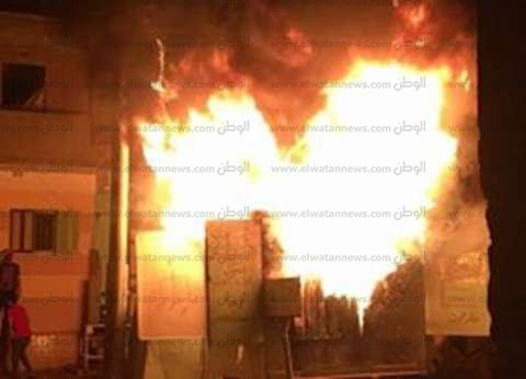 إصابة فنيين إثر حريق في محول كهرباء بسوهاج