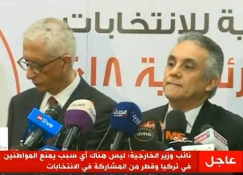 الوطنية للانتخابات:إقبال كثيف بالدول العربية..والخارجية تتابع باستمرار