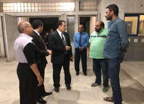وكيل وزارة الصحة بالسويس يفاجئ الأقسام الداخلية بالمستشفى العام